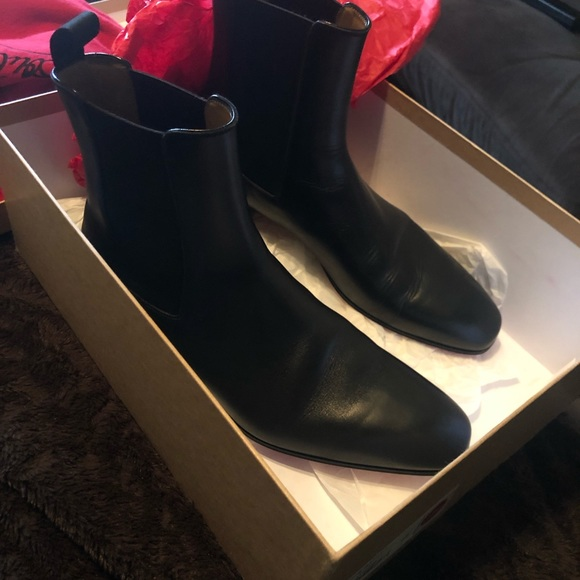 save off fbe17 88692 Louboutin Roadie Flat Calf Boot